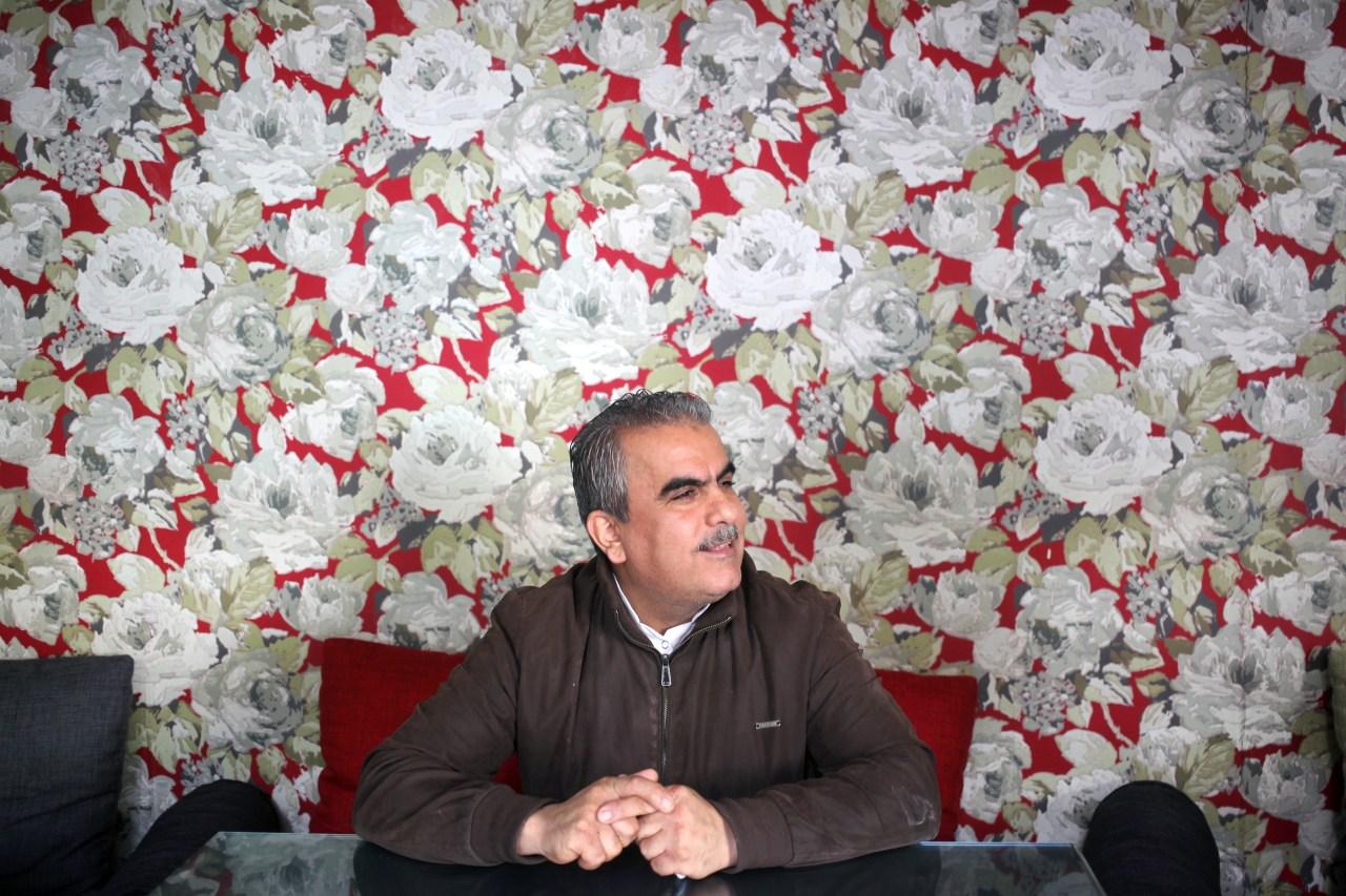Abu Waseem at his restaurant.