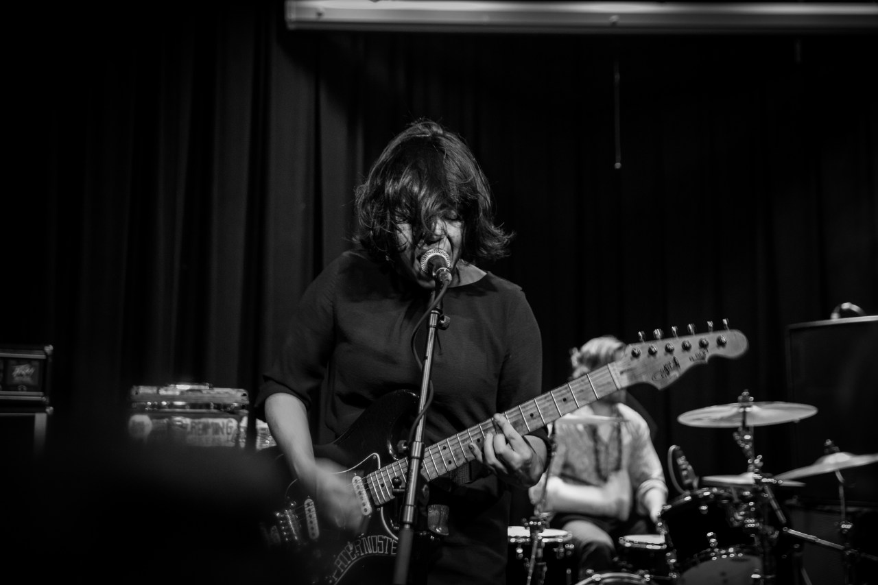 Screaming Females performs at The Vera Project. (Photo by: Ansley Lee)