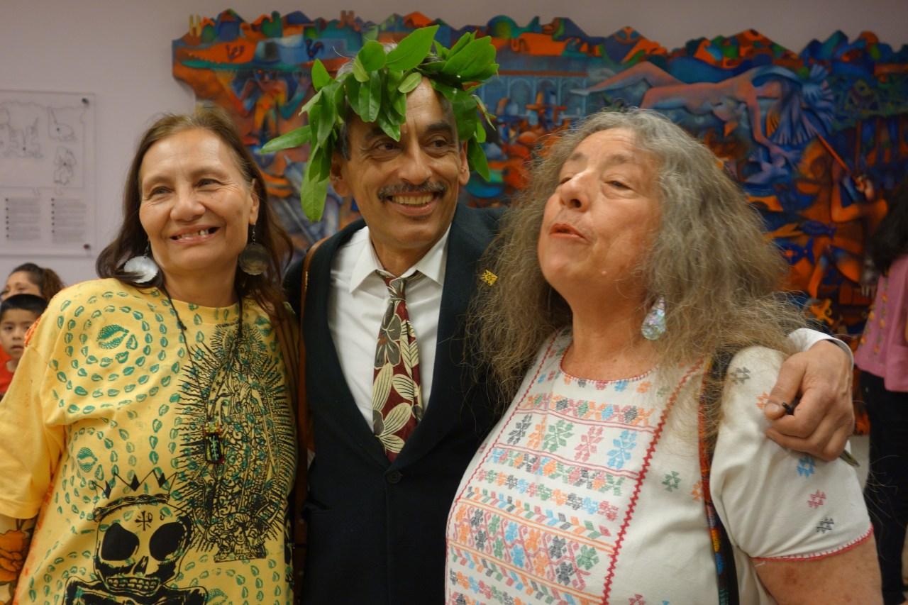 Alejandro Murguía San Francisco poet laureate inaugural address. (Photo by Steve Rhodes via Flickr)