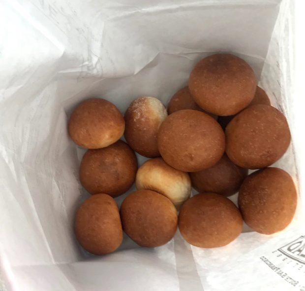 The mini buns.