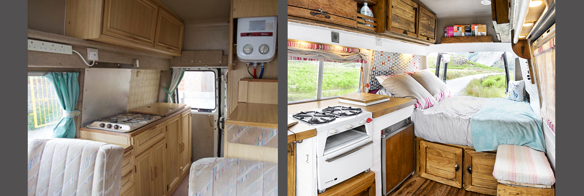 Fully transformed Camper Van for only £1000-Budget Breakdown