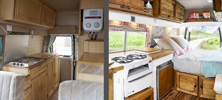Fully transformed Camper Van for only £1000-Budget Breakdown #vanlife