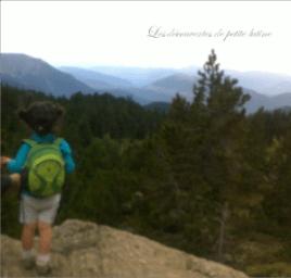 randonnée en montagne avec un enfant de quatre ans