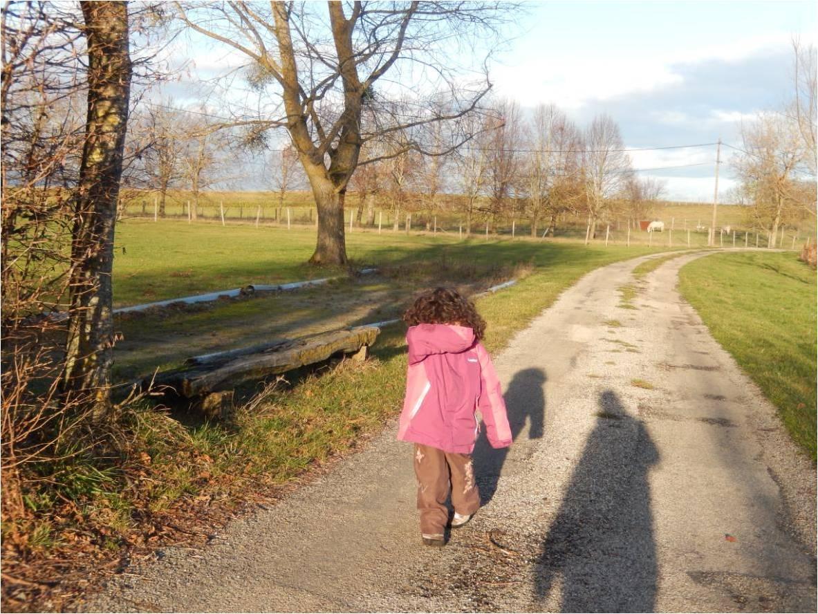 Faire aimer les promenades à ses enfants