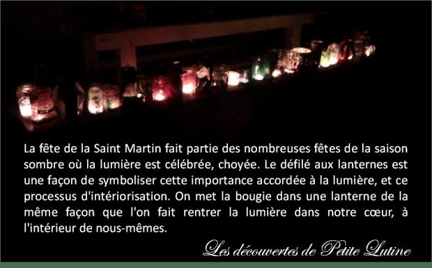 fête de la Saint Martin lanternes