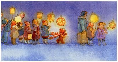 défilé lanternes saint martin histoire conte