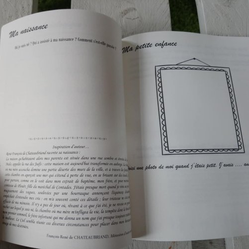 idées et proposition pour un travail d'écriture autobiographique par les adolescents