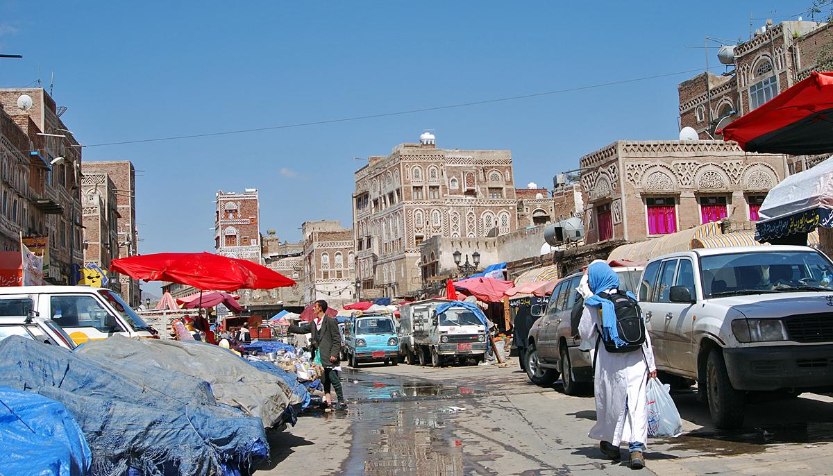 Sanaa hiding from the heavy rains.