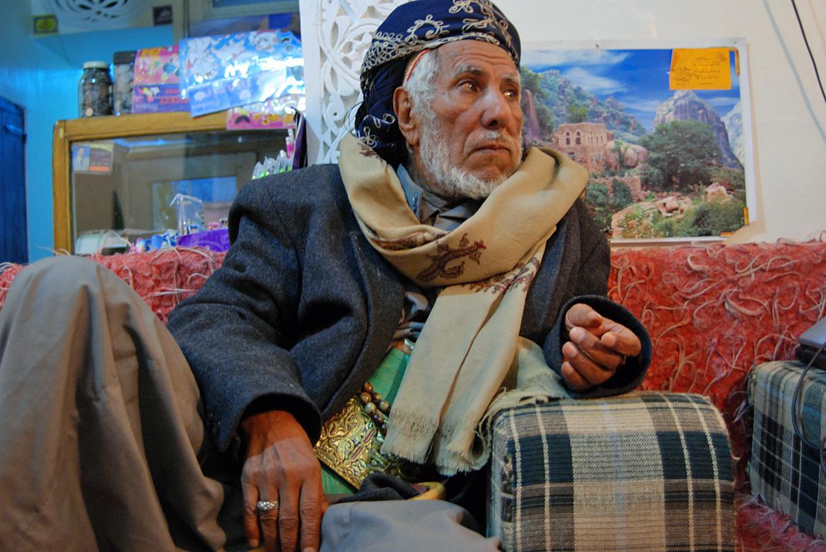 The old hajji....