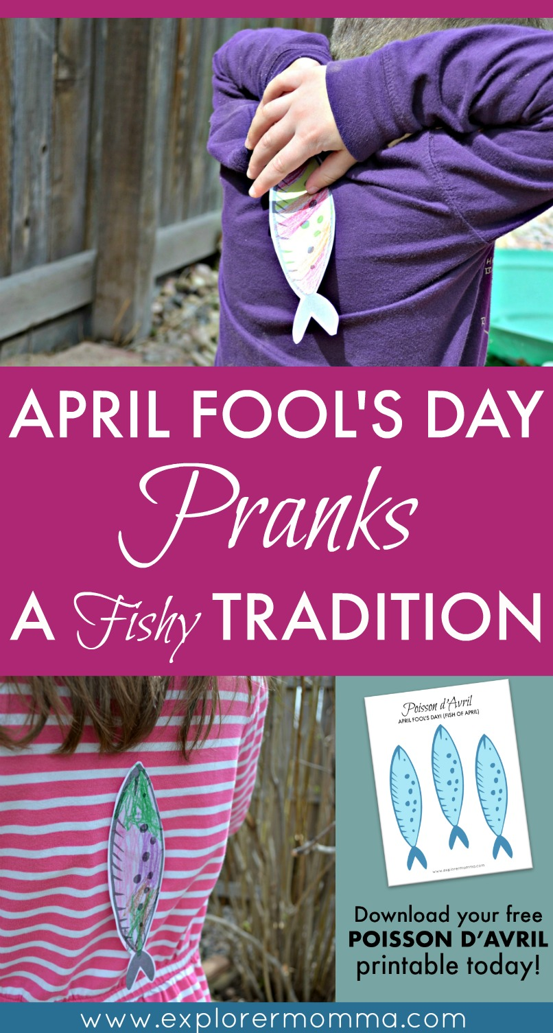 Pin: April Fool's Day pranks
