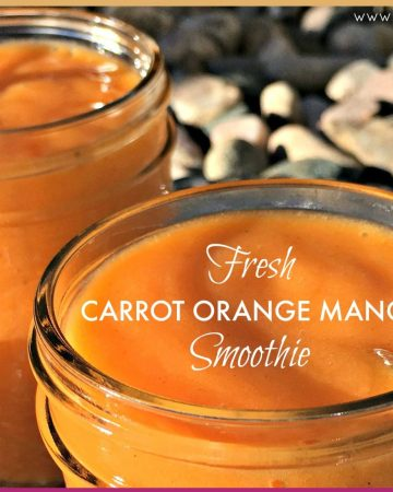 Carrot smoothie feature