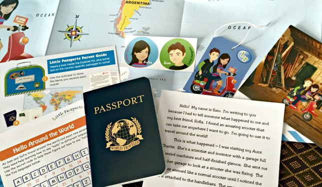 Little Passports close-up