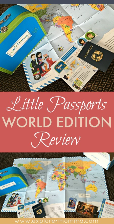 Little Passports review pin