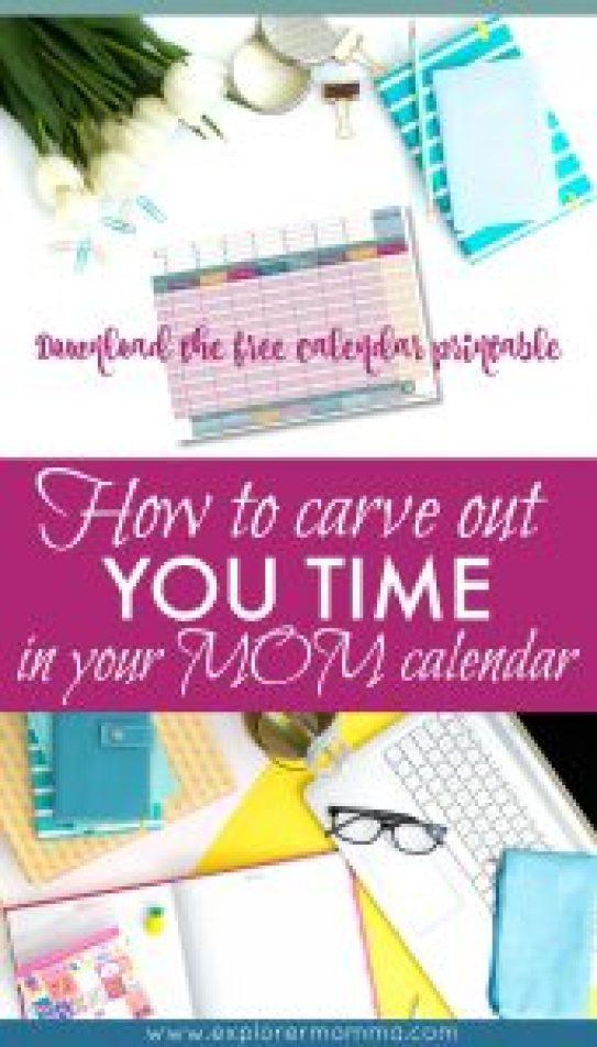 Mom calendar pin