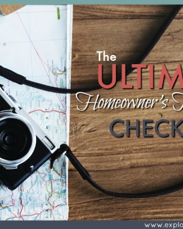 Homeowner's travel prep checklist feature