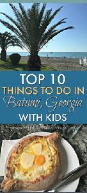 Batumi with kids pin