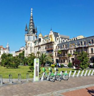 Europe Square, bikes