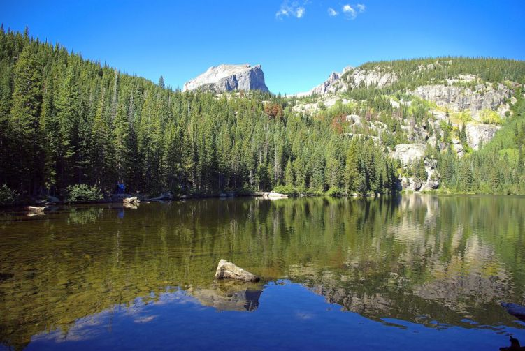 Bear Lake, summer Estes Park hikes for kids
