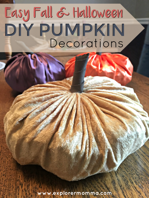 Easy DIY Pumpkin Decor pin2