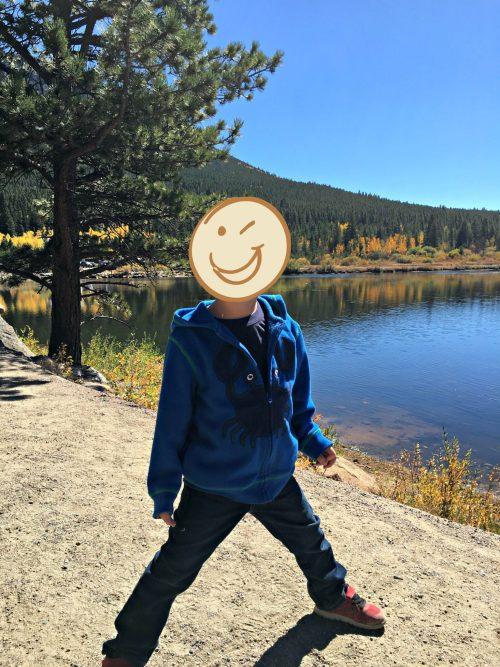 Hiking at Lily Lake