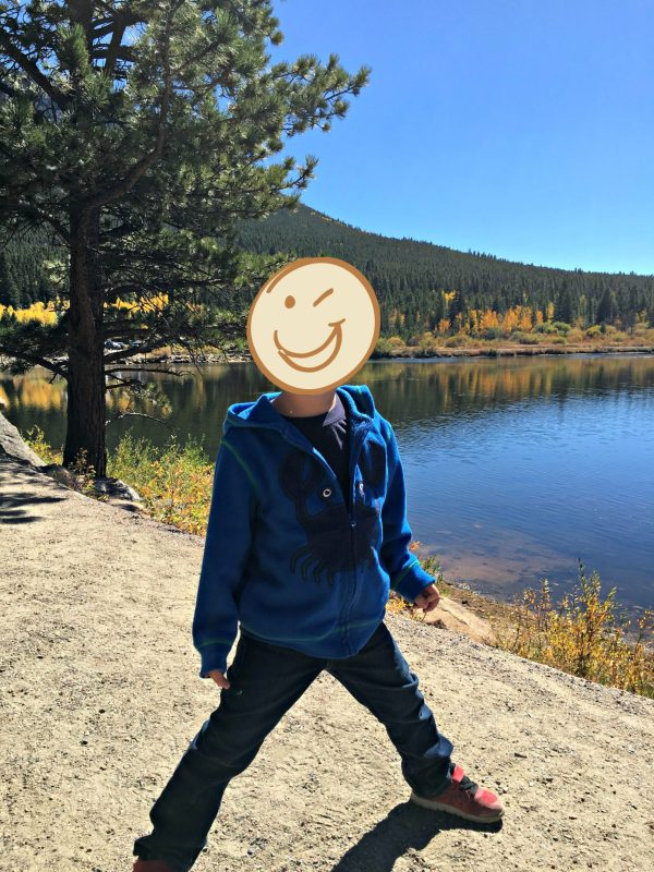 Hiking at Lily Lake