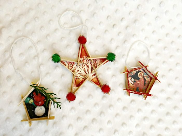Kids' DIY Christmas Tree Ornaments