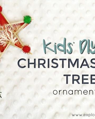 Kids' DIY Christmas tree ornament feature