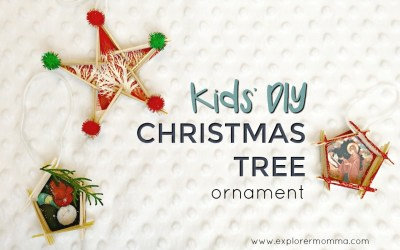 Kids' DIY Christmas Tree Ornament