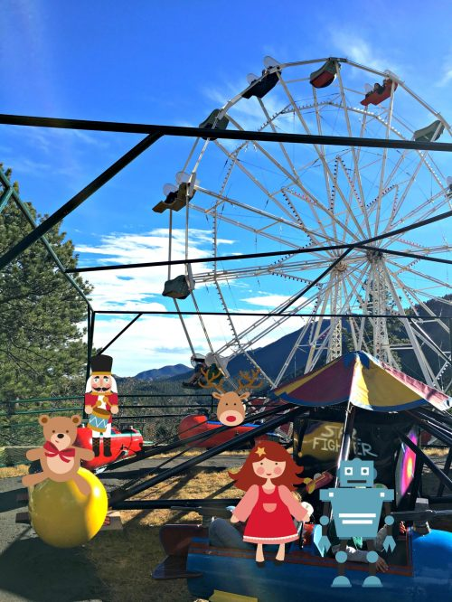 Santa's Workshop Colorado ferris wheel