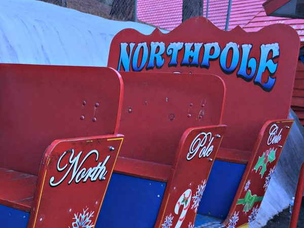 Tips For Visiting Santa's Workshop Colorado sled