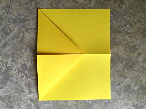 Best paper airplane ever, big triangle