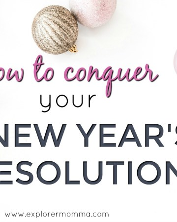 New Year's Resolutions feature
