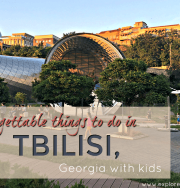 Tbilisi Presidential palace and Rike Park Auditorium, Tbilisi things to do #tbilisi #georgiatravel