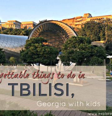 Tbilisi Presidential palace and Rike Park Auditorium, Tbilisi things to do #tbilisi #georgiatravel