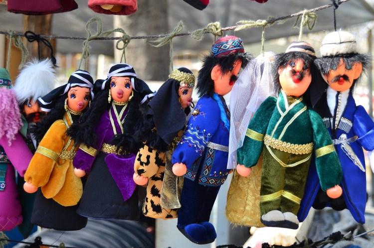 Georgian dolls, Tbilisi