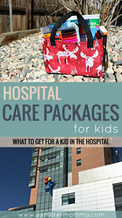 Hospital care packages for kids