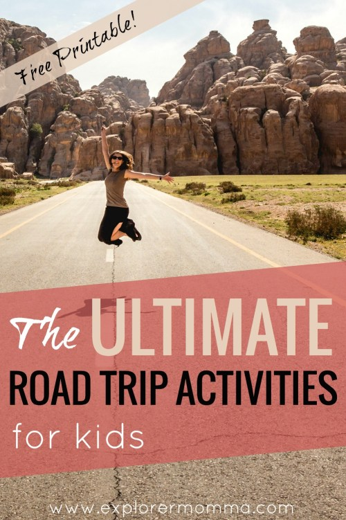 Ultimate road trip activities for kids