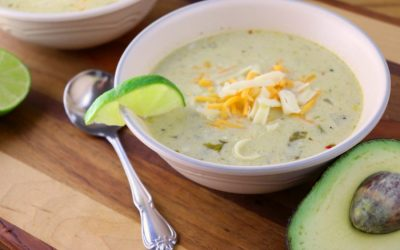 Low Carb Green Chili Chicken Chowder