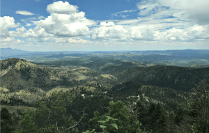 Ski Apache view, Ruidoso, New Mexico