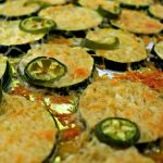 Easy low carb garlic parmesan zucchini