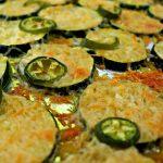 Easy low carb garlic parmesan zucchini