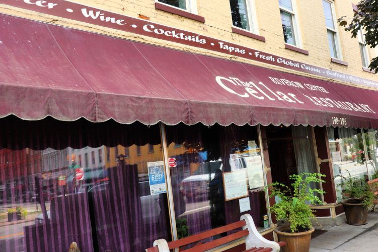 The Cellar Restaurant Owego NY #myflxtbex #ketorestaurant #experiencetioga #explorermomma