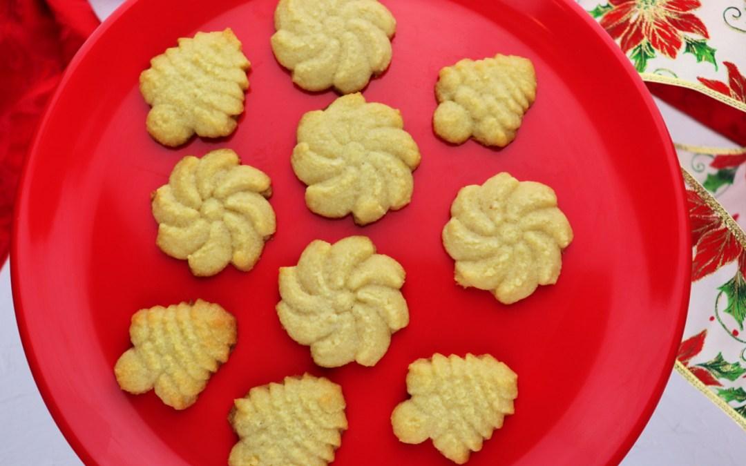 Keto Butter Spritz Cookies