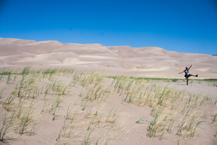 Great Sand Dunes National Park, Colorado #greatsanddunesnationalpark #coloradonationalparks
