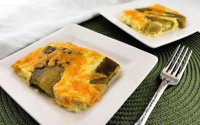 Chiles Rellenos Keto Breakfast Casserole