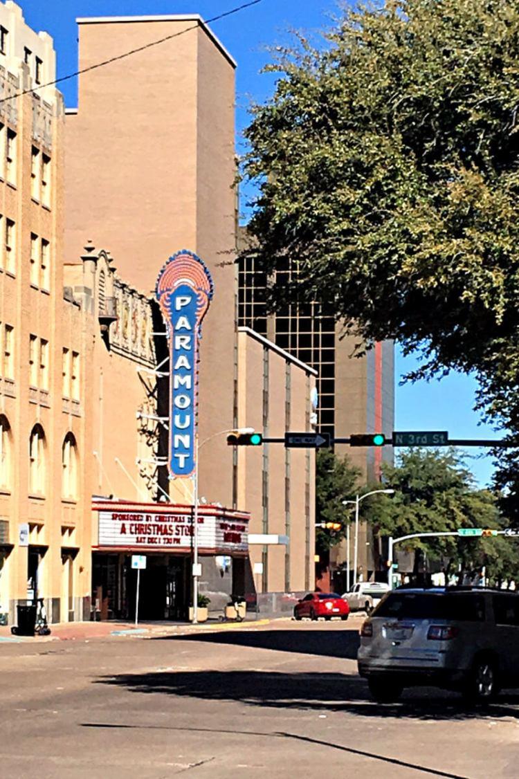 The Paramount Theater, Abilene TX #abilenetx #familytravel