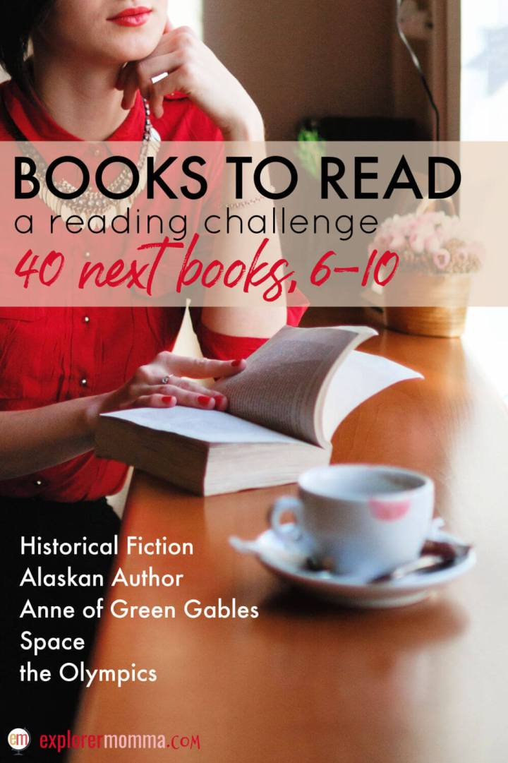 Do you have a books to read list? Check out the #40nextbooks challenge and what I'm reading in the current categories. Let's read! #bookstoread #booklist #bookchallenge