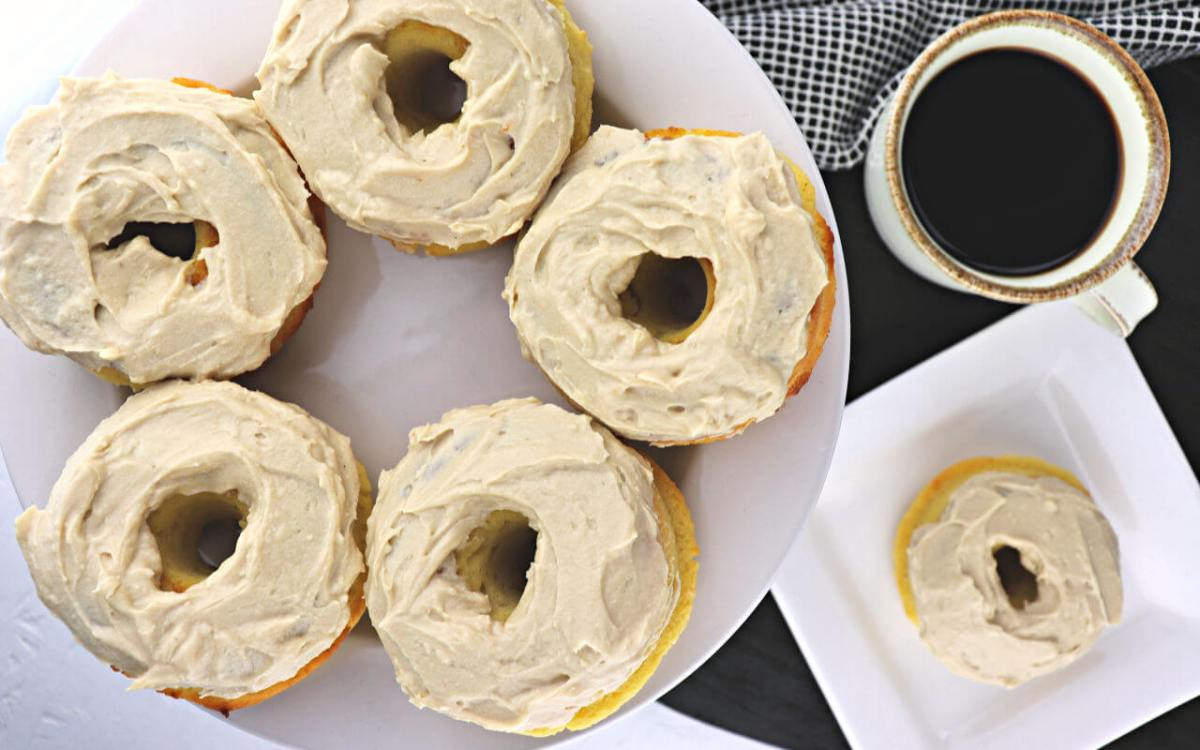 The Best Easy Keto Maple Donuts