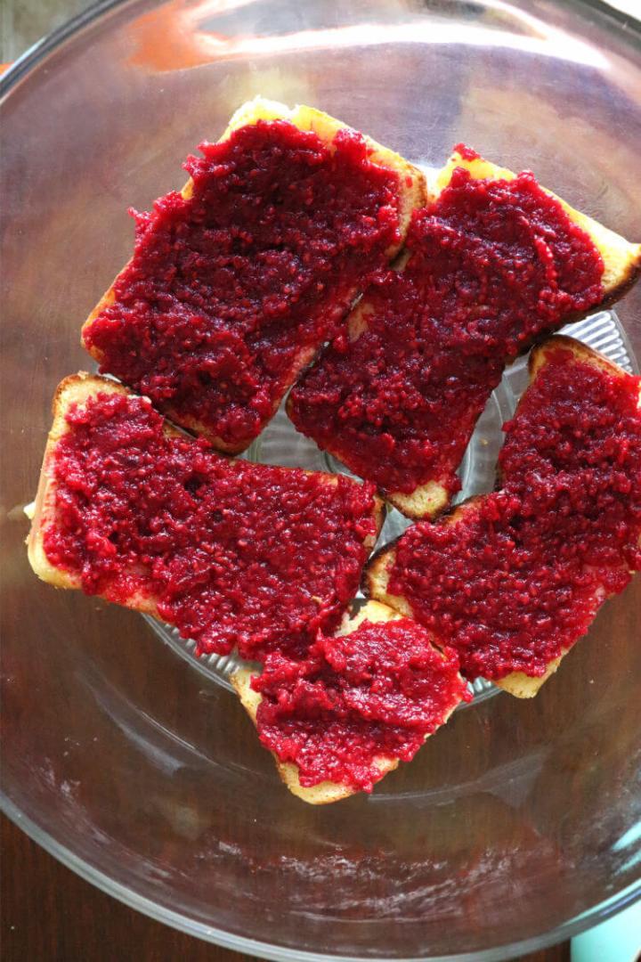 Keto berry trifle, cake with jam #ketodesserts #lowcarbdesserts