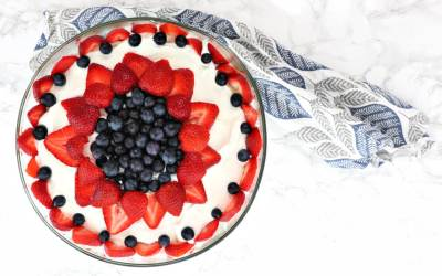 The Best Low Carb Keto Berry Trifle